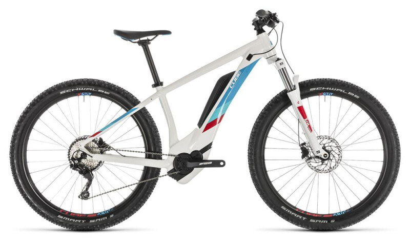 Cube Access Hybrid Pro 400 white´n´blue