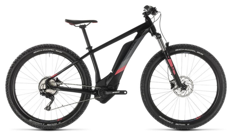 CUBE Access Hybrid Pro 400 black´n´coral