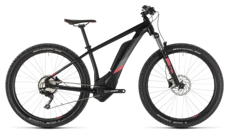 Cube Access Hybrid Pro 400 black´n´coral E-Bike