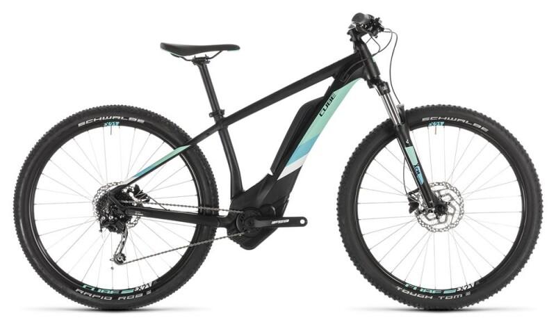 Cube Access Hybrid ONE 400 black´n´mint E-Bike