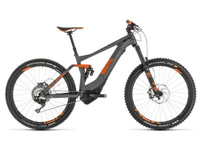Cube Stereo Hybrid 140 TM 500 KIOX 27.5 grey´n´orange