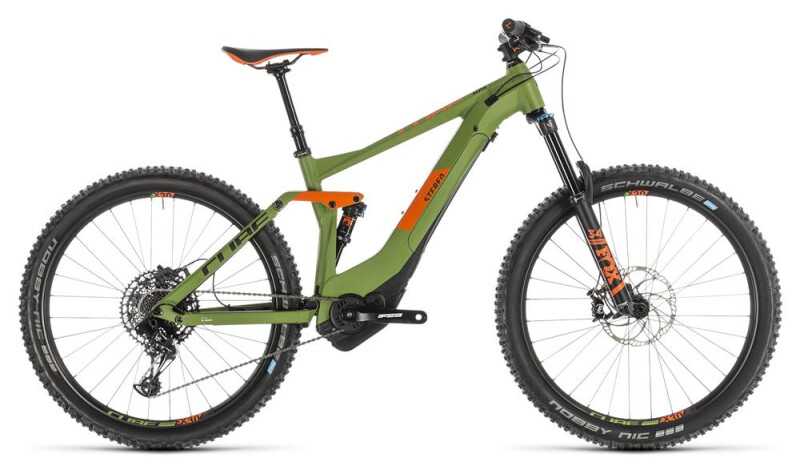 Cube Stereo Hybrid 140 Race 500 27.5 green´n´orange