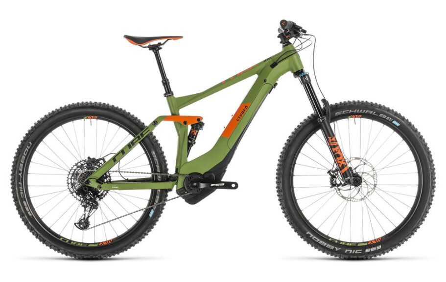 Cube Stereo Hybrid 140 Race 500 green´n´orange