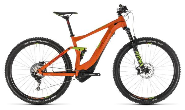 CUBE - Stereo Hybrid 120 Race 500 orange´n´green