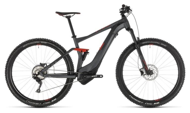 CUBEStereo Hybrid 120 Pro 500 iridium´n´red