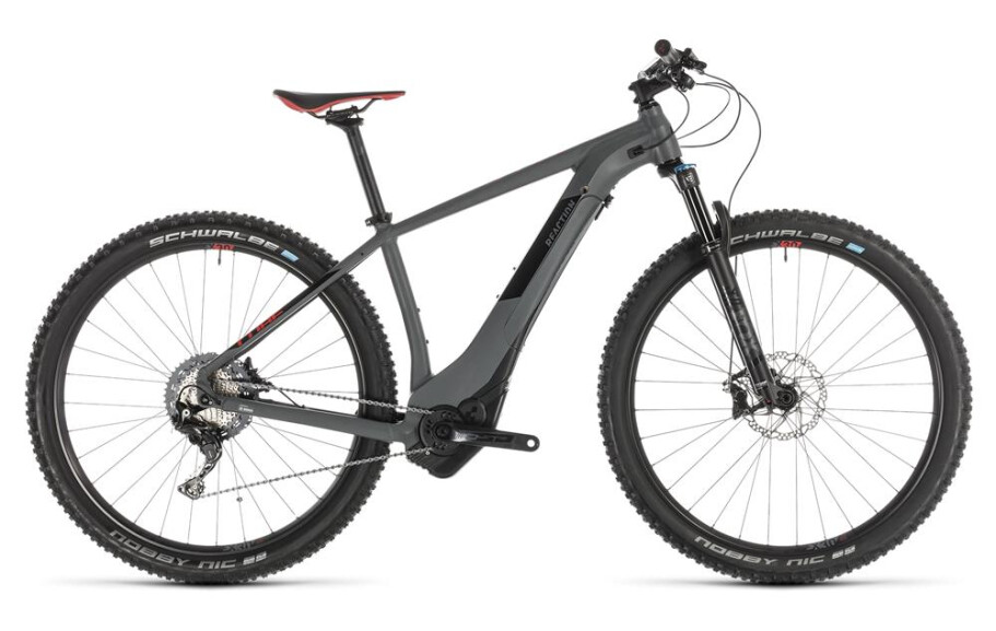 Cube Reaction Hybrid SLT 500 grey´n´red 2019