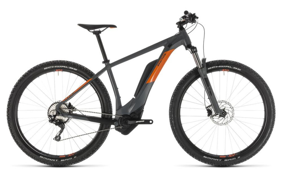 Cube Reaction Hybrid Pro 500 grey´n´orange 2019