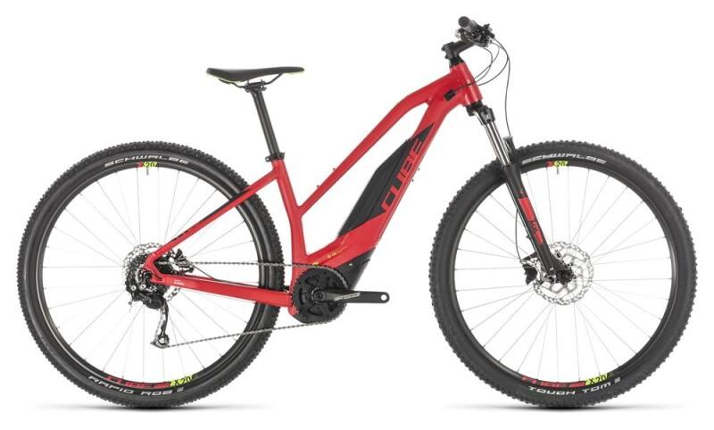 Cube Acid Hybrid ONE 500 29 red´n´green Trapez E-Bike