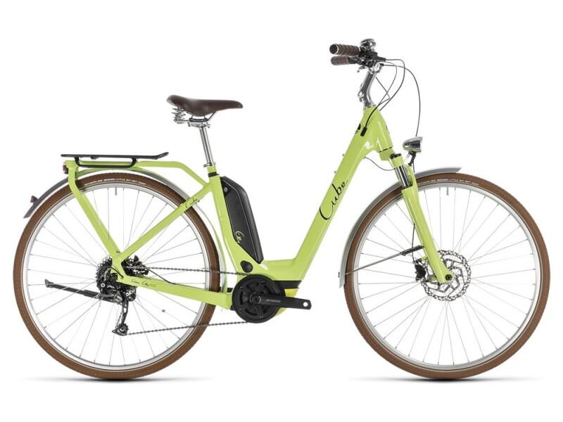 Cube Elly Ride Hybrid 500 green´n´black