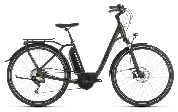 CUBE - Town Sport Hybrid EXC 500 green Easy Entry