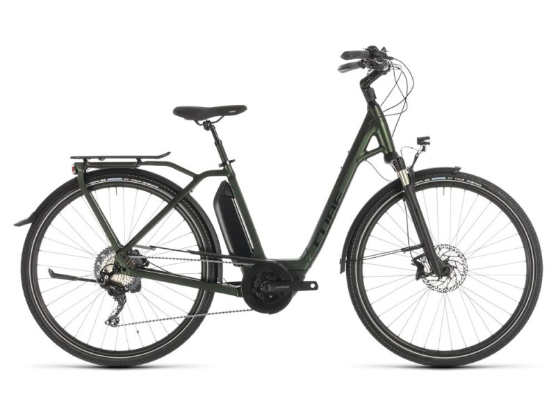 Cube Town Sport Hybrid EXC 500 green Easy Entry
