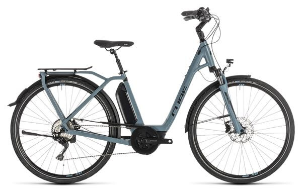 CUBE - Town Sport Hybrid Pro 400 blue´n´black Easy Entry