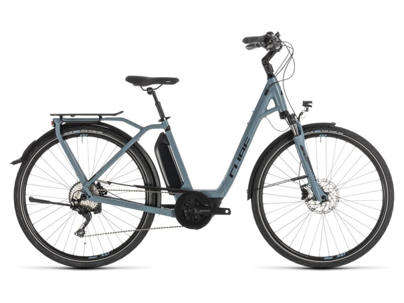 Cube Town Sport Hybrid Pro 400 blue´n´black Easy Entry