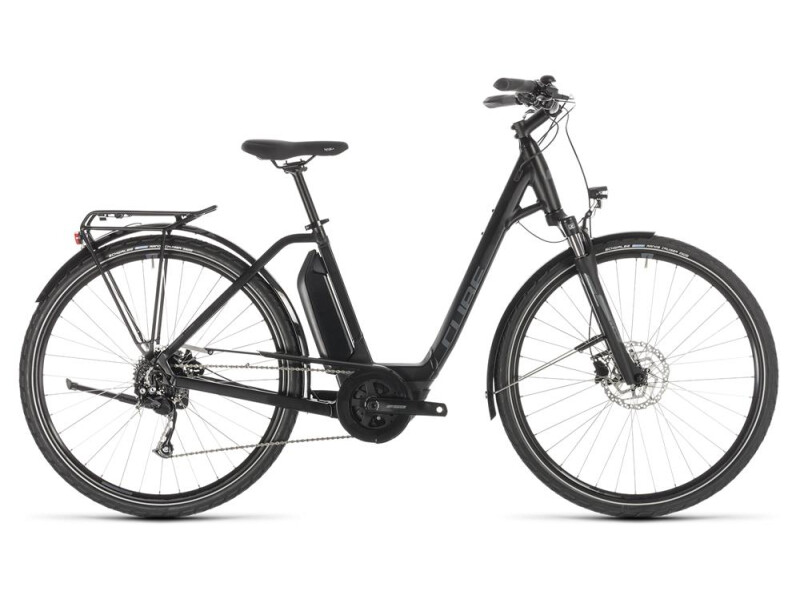 Cube Town Sport Hybrid ONE 500 black´n´grey