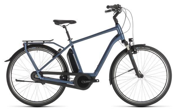 CUBE - Town Hybrid EXC 500 blue´n´blue