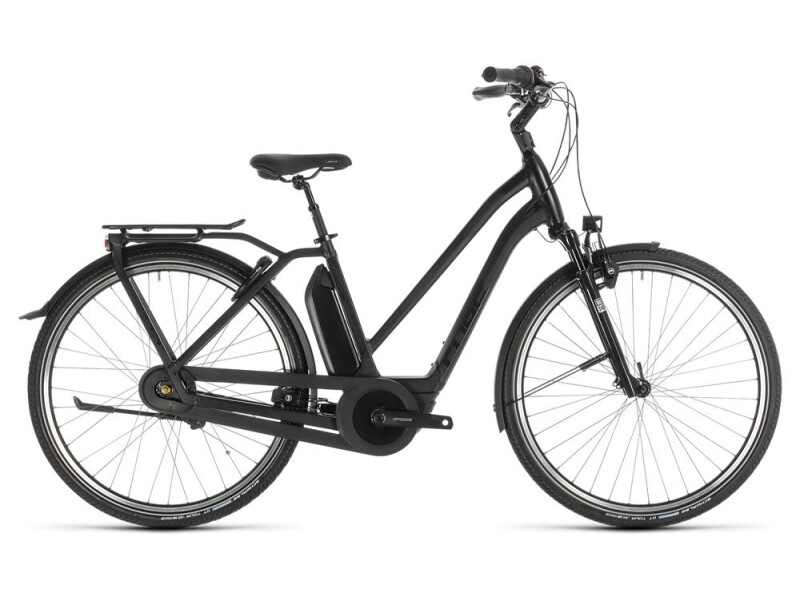 Cube Town Hybrid EXC 500 black edition Trapez