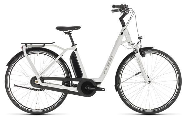 CUBE - Town Hybrid Pro 500 white´n´silver