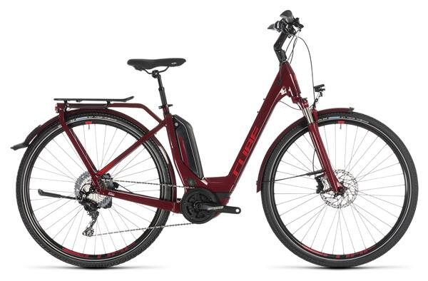 CUBE - Touring Hybrid EXC 500 darkred´n´red Easy Entry