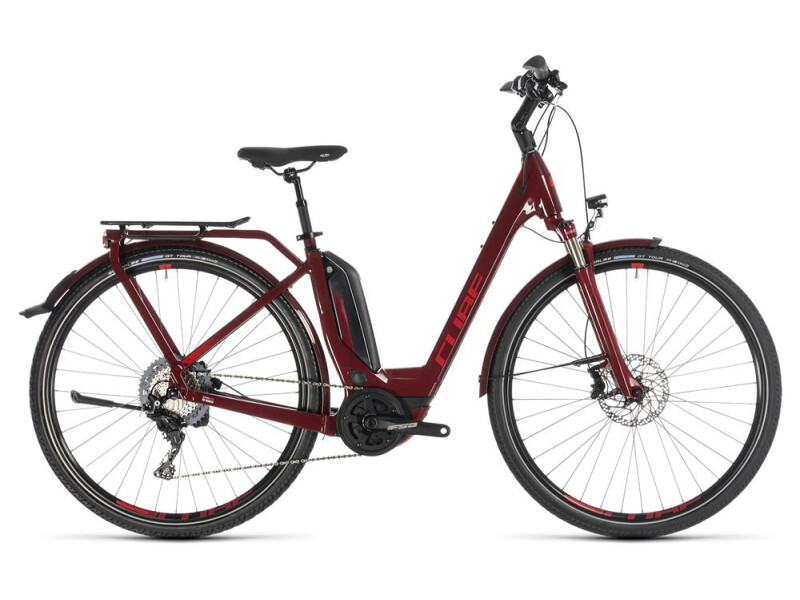 Cube Touring Hybrid EXC 500 darkred´n´red Easy Entry