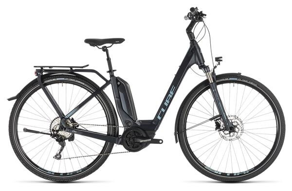 CUBE - Touring Hybrid Pro 500 darknavy´n´blue Easy Entry
