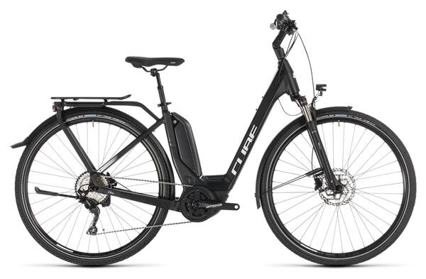 CUBE - Touring Hybrid Pro 500 black´n´white Easy Entry