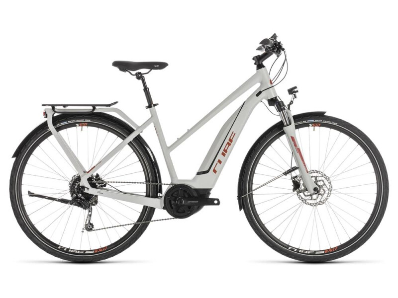 Cube Touring Hybrid 500 grey´n´orange Trapez