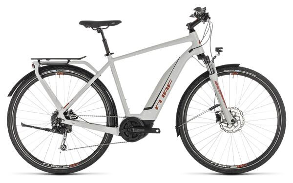 CUBE - Touring Hybrid 500 grey´n´orange