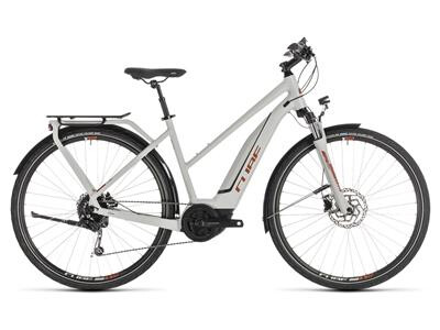 Cube Touring Hybrid 400 grey´n´orange Trapez