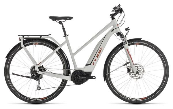 CUBE - Touring Hybrid 400 grey´n´orange Trapez