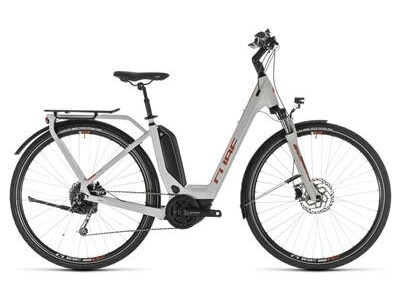 Cube Touring Hybrid 400 grey´n´orange Easy Entry