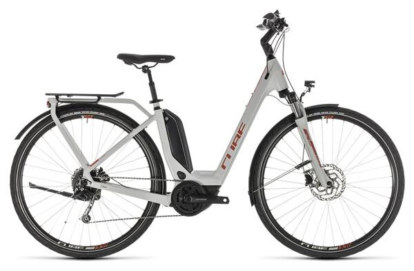 CUBE - Touring Hybrid 400 grey´n´orange Easy Entry