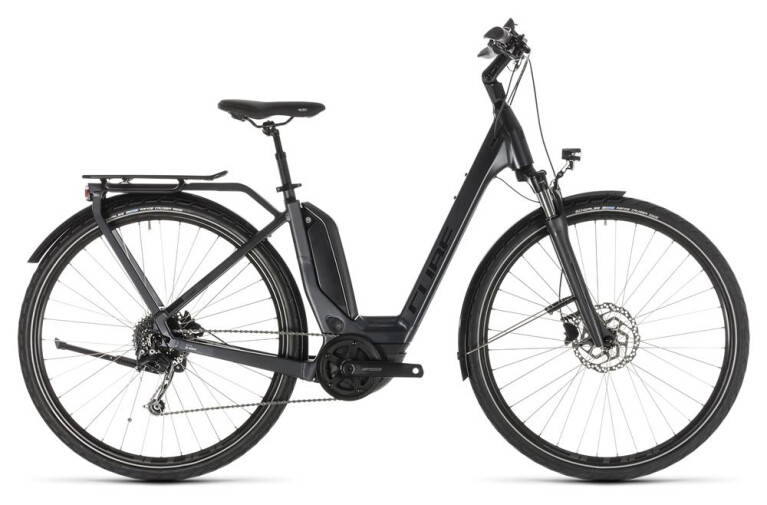 CUBE Touring Hybrid 500 iridium´n´black Easy Entry