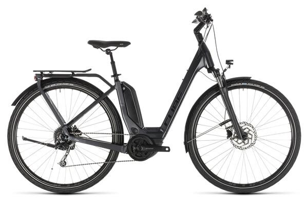 CUBE - Touring Hybrid 400 iridium´n´black Easy Entry