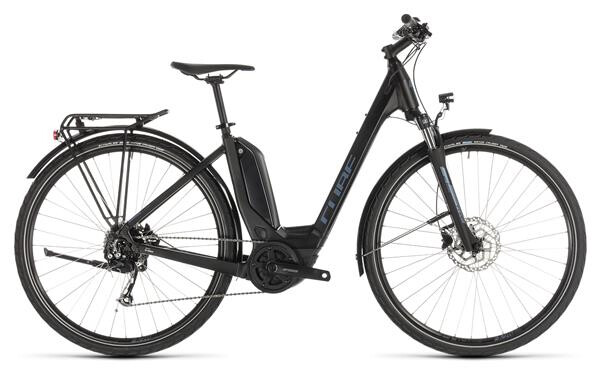 CUBE - Touring Hybrid ONE 500 black´n´blue Easy Entry