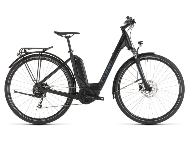 Cube Touring Hybrid ONE 500 black´n´blue Easy Entry
