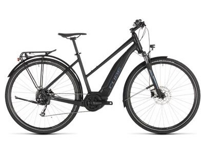 Cube Touring Hybrid ONE 400 black´n´blue Trapez