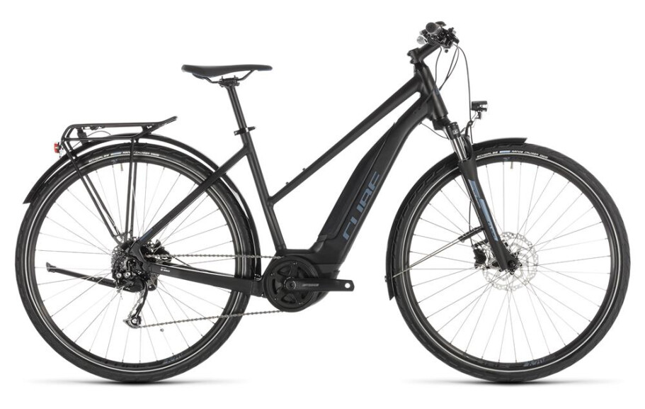 Cube Touring Hybrid ONE 400 trapez black´n´blue 2019