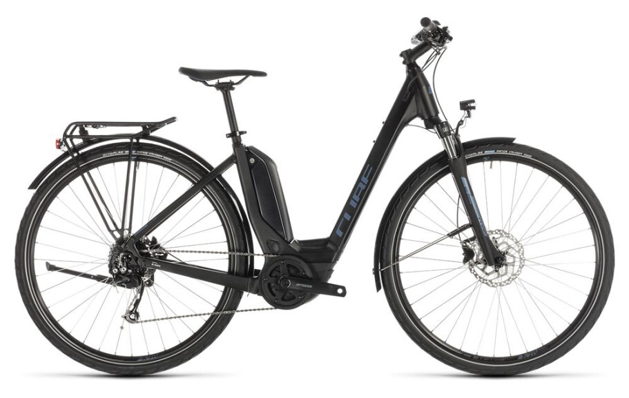 Cube Touring Hybrid ONE 400 Easy Entry black´n´blue 2019