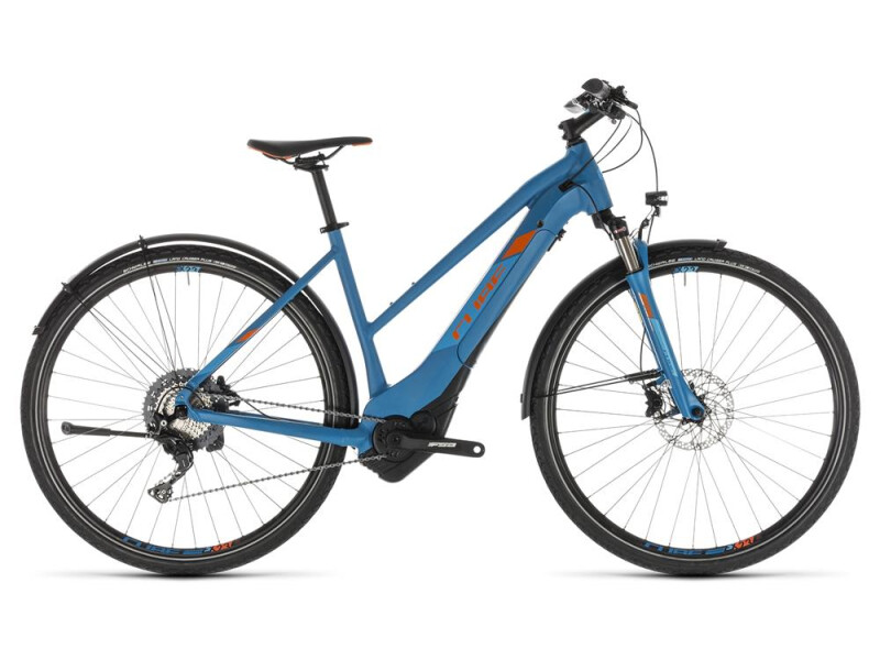 Cube Cross Hybrid Race 500 Allroad blue Trapez