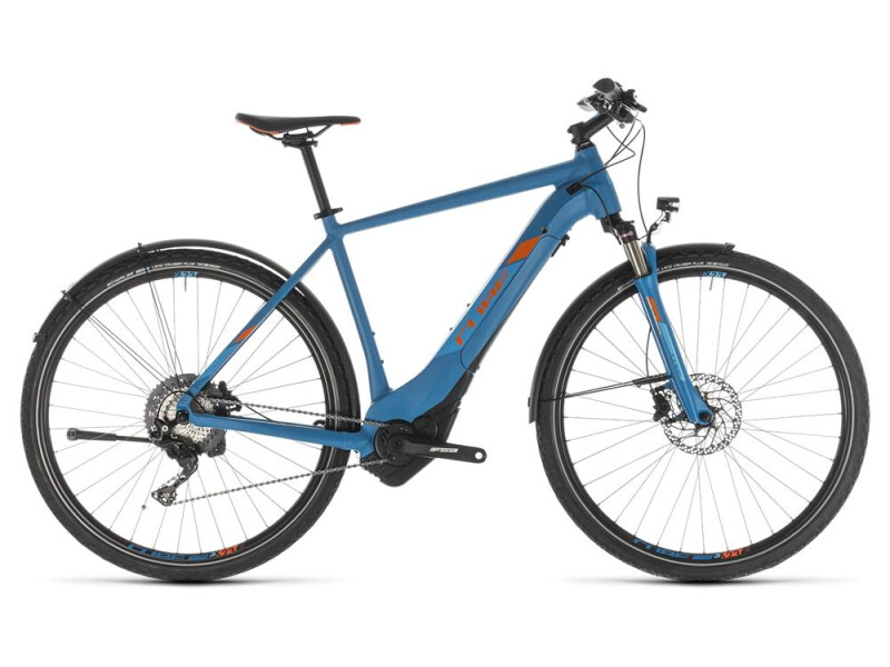 Cube Cross Hybrid Race 500 Allroad blue´n´orange