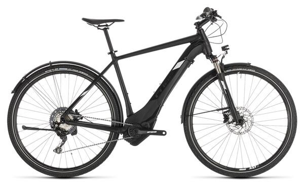 CUBE - Cross Hybrid Race 500 Allroad black´n´white