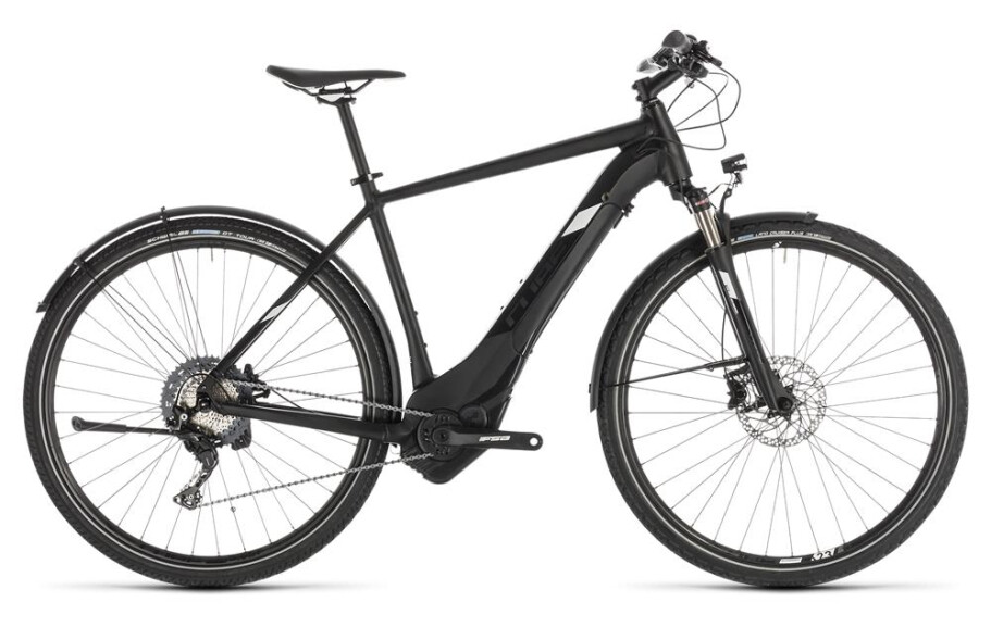 Cube Cube  Cross Hybrid Race 500 Allroad black´n´white 2019 54cm