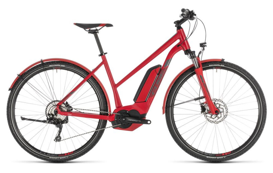 Cube Cross Hybrid Pro 500 Allroad red n grey