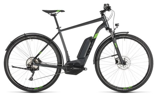 CUBE - Cross Hybrid Pro 500 Allroad iridium´n´green