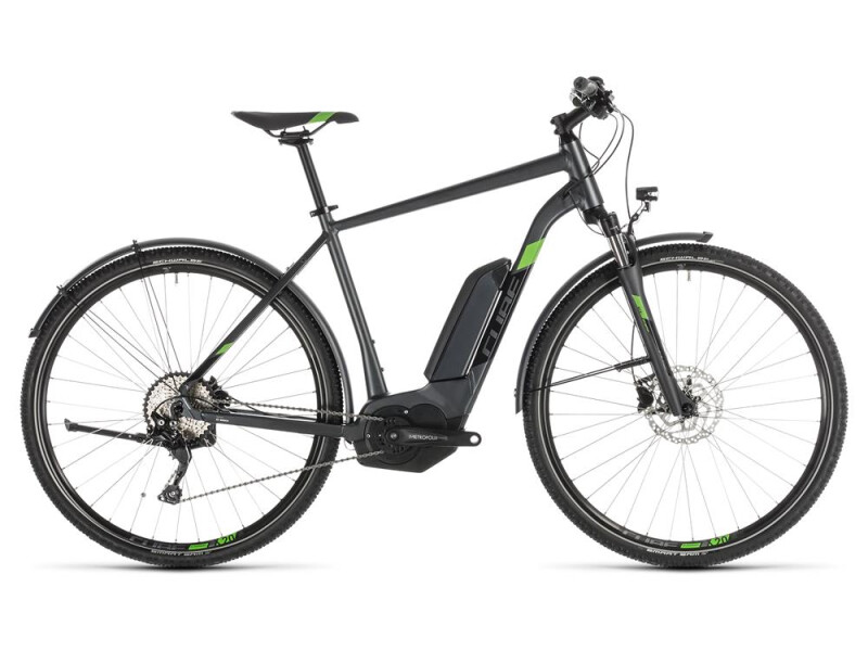 Cube Cross Hybrid Pro 500 Allroad iridium´n´green