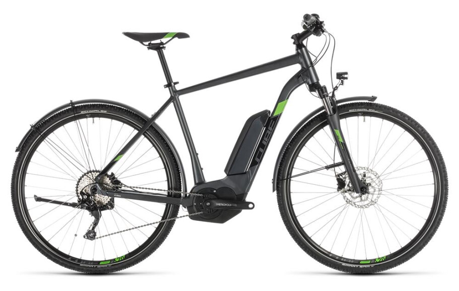 Cube CROSS HYBRID PRO Allroad black-green H