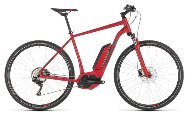 CUBE - Cross Hybrid Pro 500 red´n´grey