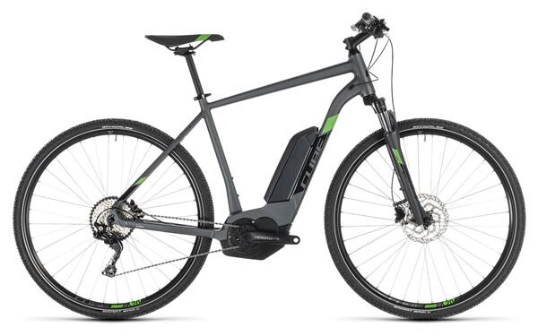 CUBE - Cross Hybrid Pro 400 iridium´n´green