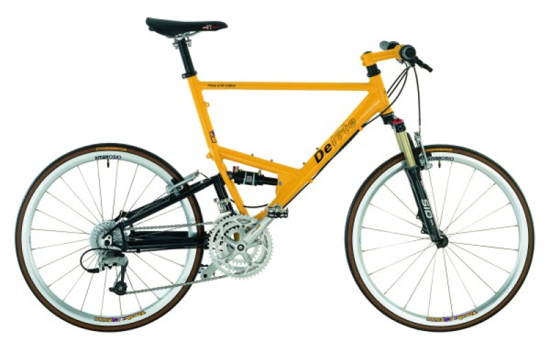 Riese und Müller Delite yellow Trekkingbike