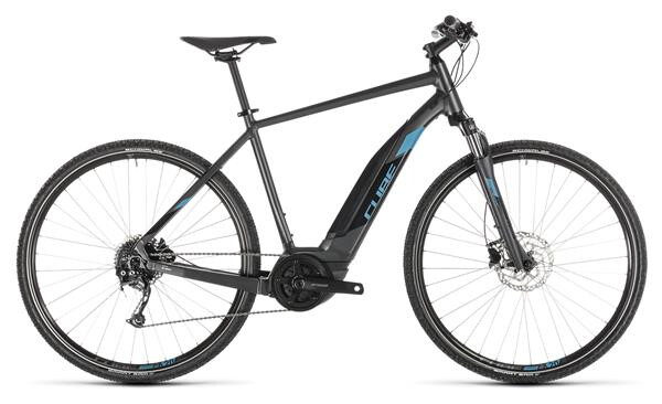 CUBE - Cross Hybrid ONE 400 iridium´n´blue